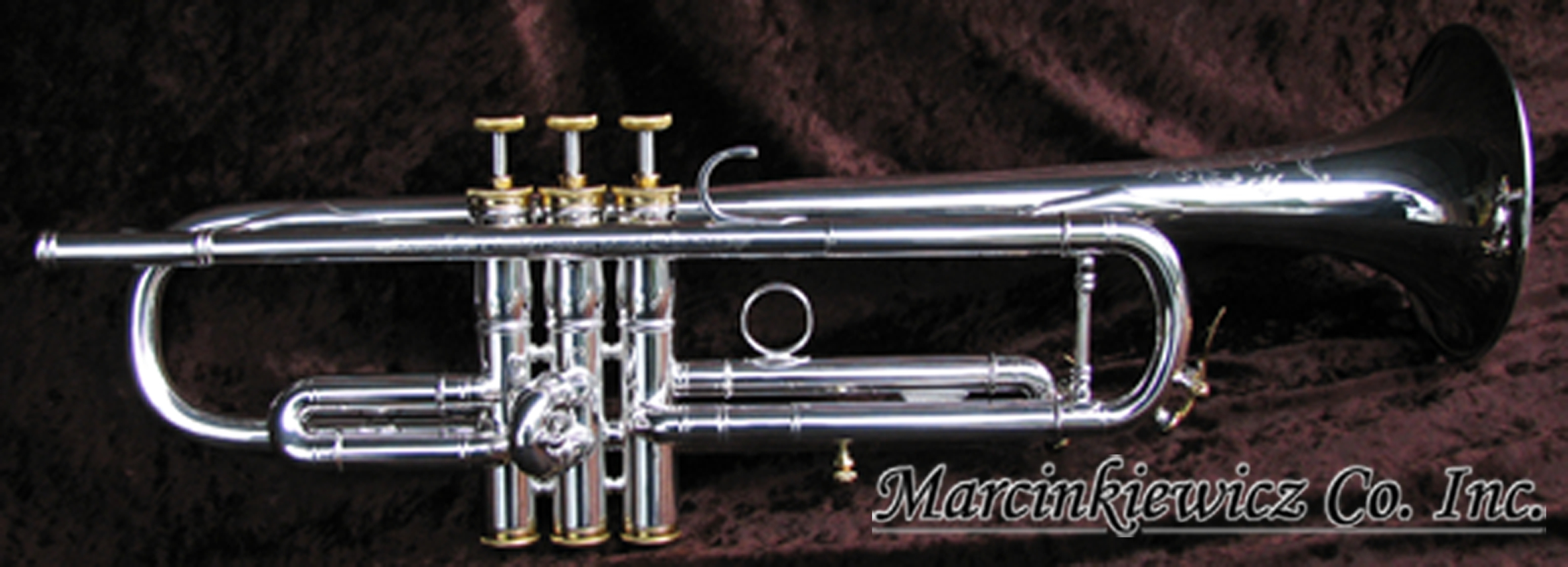 Claude Gordon Trumpets by Marcinkiewicz Co. Inc.