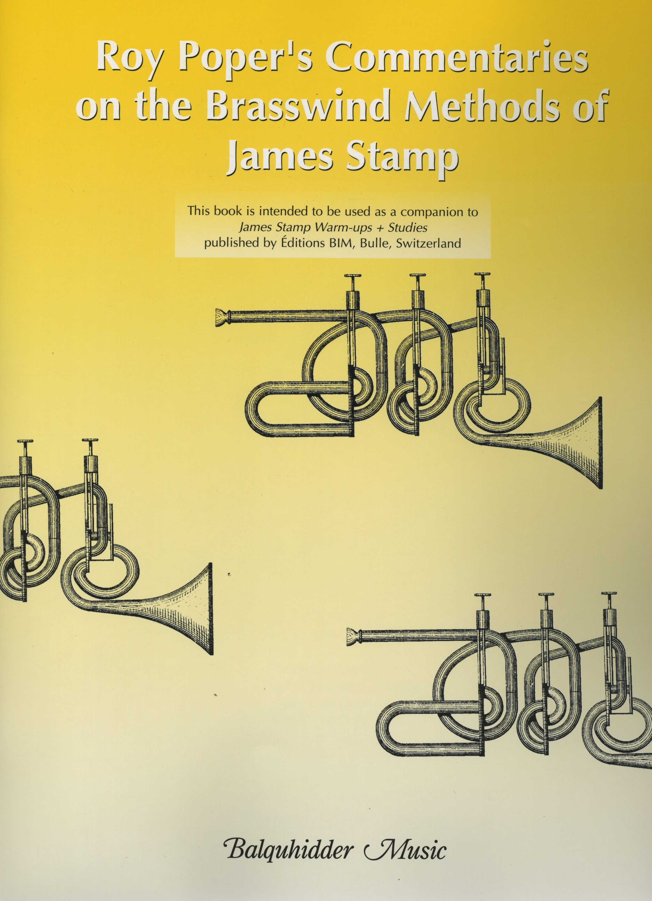 Roy Poper's Commentaries on the Brasswind Methods of James Stamp