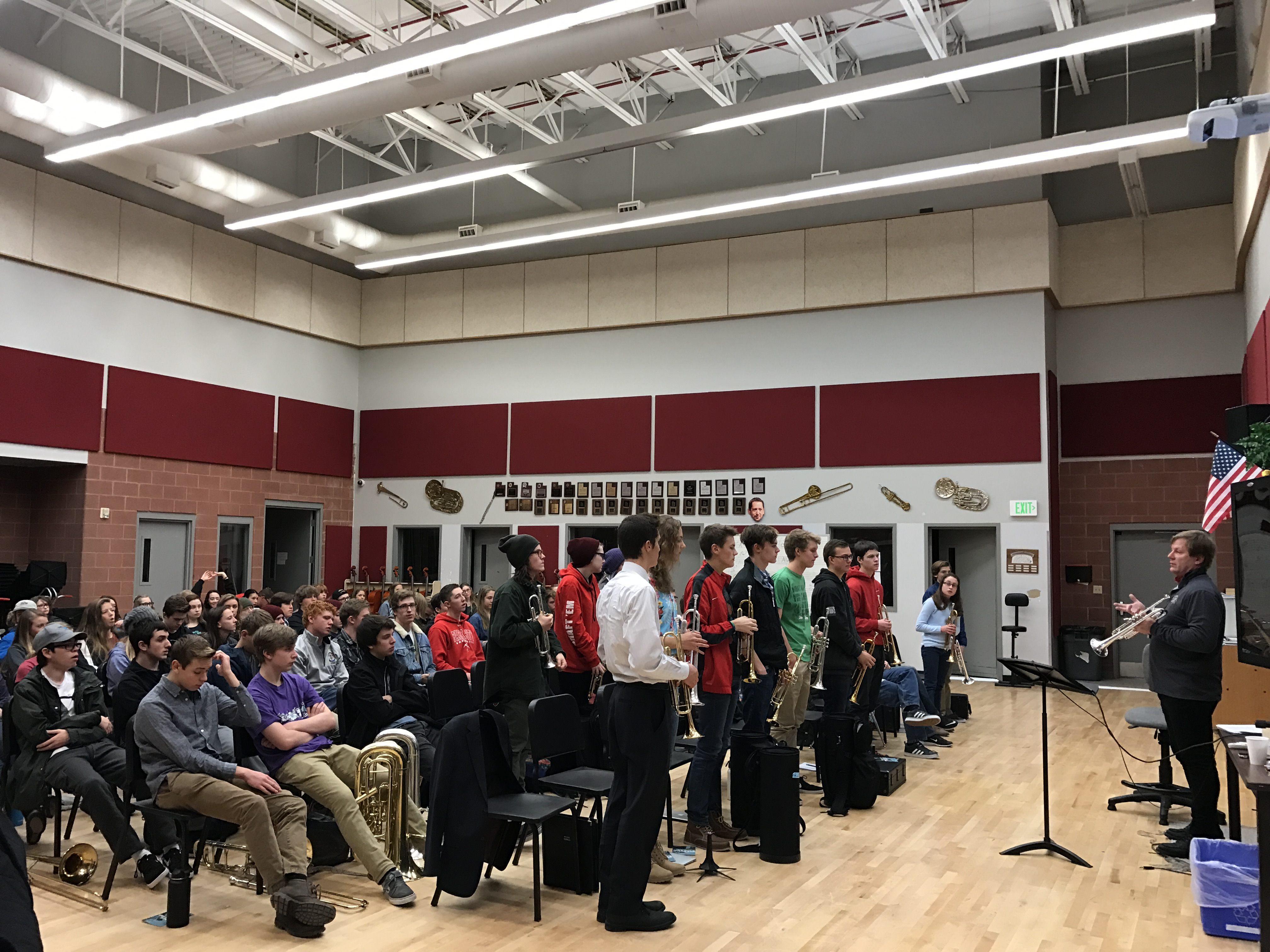 Trumpet Clinic in Park City, Utah - Jeff Purtle