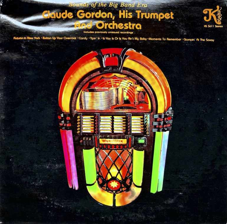 Claude Gordon, His Trumpet, and His Orchestra - Front - Volume 2