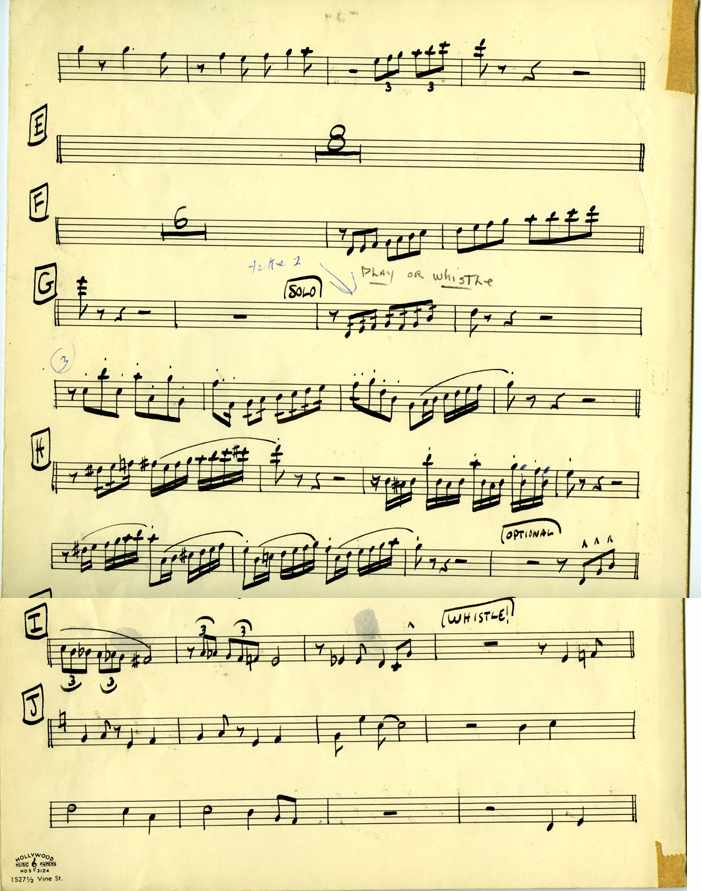 Claude Gordon Playing On The Mall arranged by Billy May - Page 2
