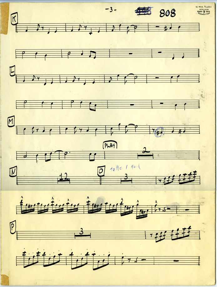 Claude Gordon Playing On The Mall arranged by Billy May - Page 3