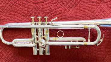 Claude Gordon Selmer B flat Trumpet serial number 2060