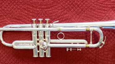 Claude Gordon Selmer B flat Trumpet serial number 495