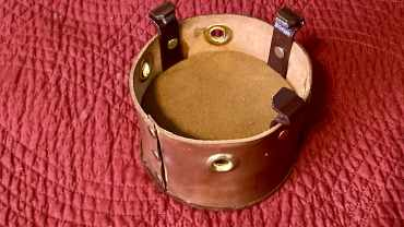 Leather Bucket Mute for Trumpet