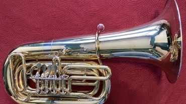 Miraphone 186 4U Double B Flat Tuba - Tuba Exchange model