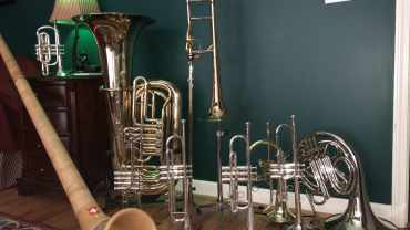 Trumpets, Cornet, French Horn, Tuba, and Alphorn