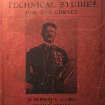Herbert L. Clarke's Technical Studies for trumpet and cornet cover