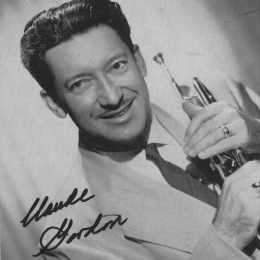Claude Gordon headshot with trumpet